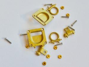Zurrtasche, funktionell, 13 x 13 mm