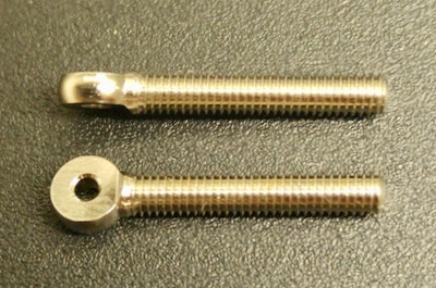 Bohrung 1,6 mm x Gewinde M 3,0 LINKS