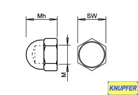 M 1,6 niedrige Bauform