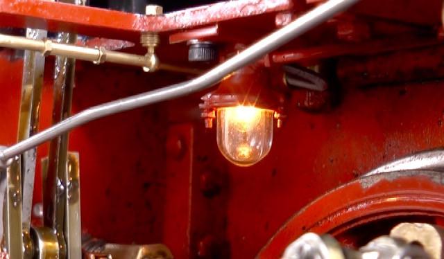 Triebwerks-Lampe