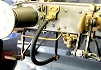 Bremsluftkupplungs-Armatur / Hahn LINKS