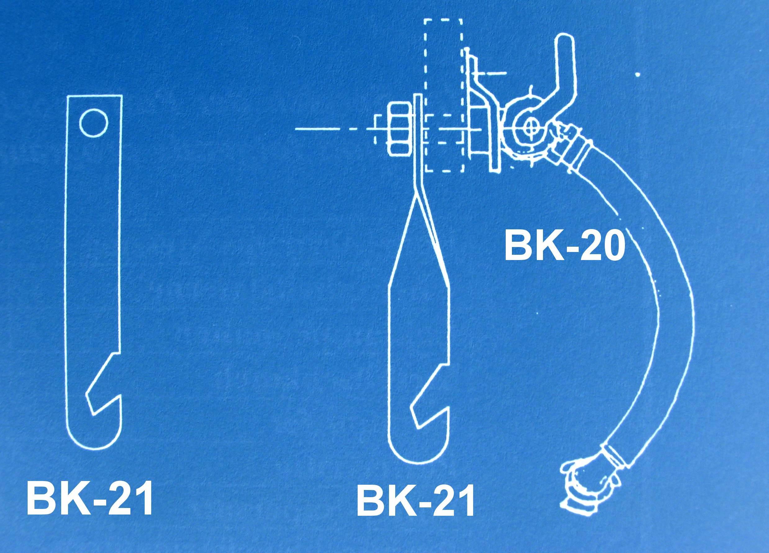 Aufhänger für Bremsluftkupplung