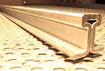 Schienenprofil gebogen, RADIUS ca. 8 m ca. 3000 mm lang