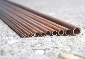 Kupferrohr-Sortiment 2-3-4-5 mm Außendurchmesser