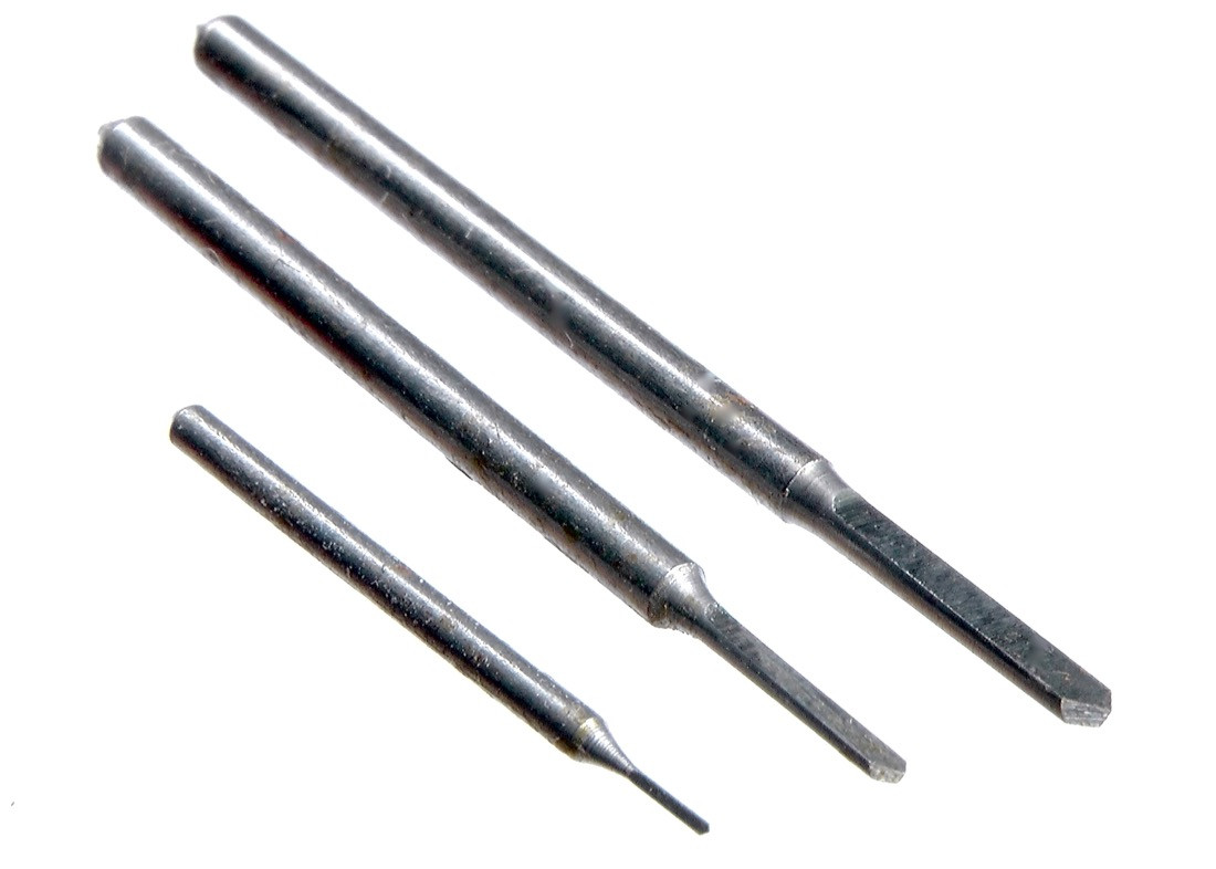 Stichelbohrer-Satz 0,3 - 1,25 mm