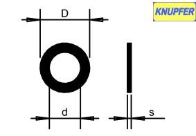 2,0 mm - Außen D 4,5 mm
