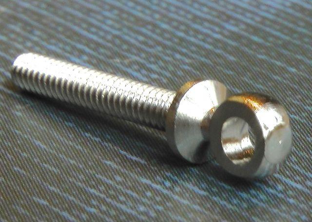 Bohrung 2,5 mm x Gewinde M 2,5