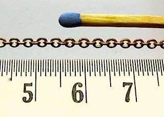 Miniaturkette 0,5 mm