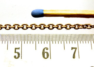 Miniaturkette 0,7 mm