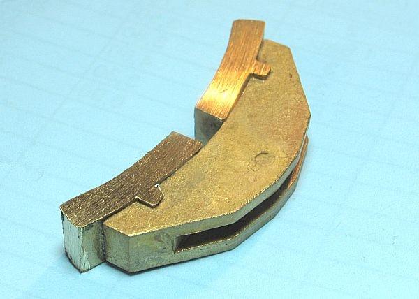 Bremsklotz 120 - 130 mm für Einfachaufhängung