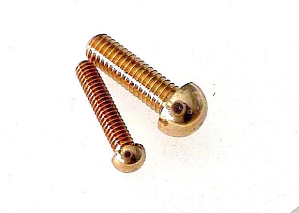 M 2 x 10 - Halbrund-Kopf
