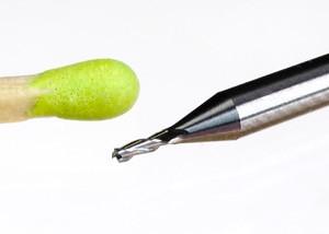 Mini-Fräser 0,8 mm mit Zentrumsschnitt!