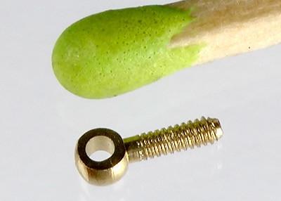 Bohrung 1,4 mm x Gewinde M 1,4