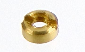 M 1,0 Micro-Schlitzmutter