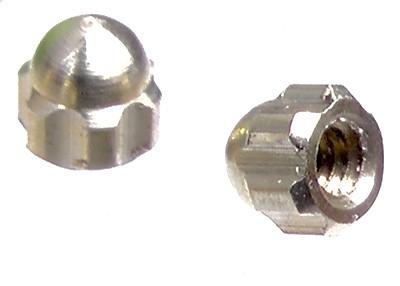 M 1,2 Rändel-Hutmutter