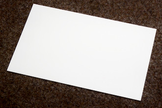 Polystyrol-Platte 1,0 mm