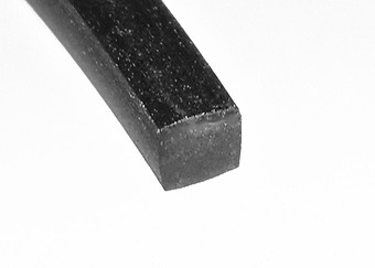 2 x 2 mm Vierkantschnur Meterware NBR