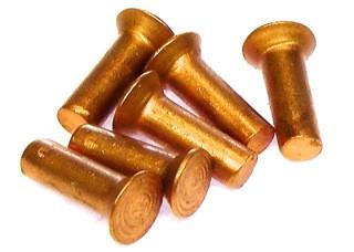 2,0 x 6 mm / Kupfer