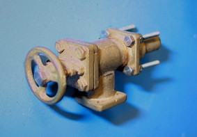 Dampfdom-Ventil für Einheitslokomotiven