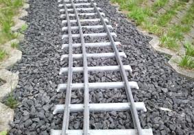 Gleise und Weichen in Kombispur 5 und 7