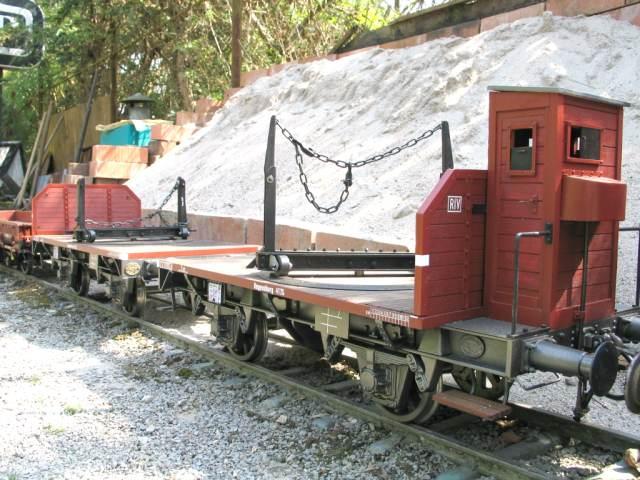 Knupfer-Modelbahn-Langholzwagen