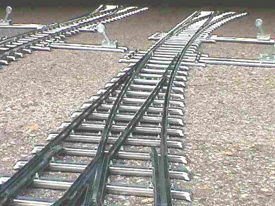 Knupfer Messe Modellbahn Weiche