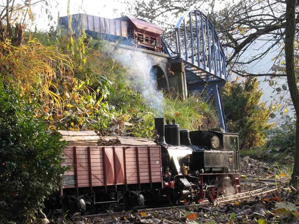 Knupfer-Modeleisenbahn-modelbruecke